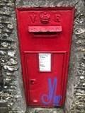 Image for Victorian Wall Post Box - Preston Drove - Brighton - East Sussex - UK