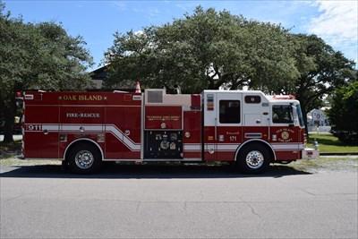 Oak Island Fire Dept Station 1 - Oak Island, NC, USA