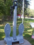 Image for U.S. Navy Stockless Anchor - Community Park - Salamanca, N.Y.