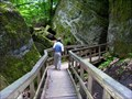 Image for Nelson Ledges Waterfall Boardwalk