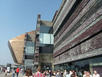 Wales Millennium Centre, Cardiff, Wales.