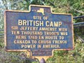 Image for SITE OF BRITISH CAMP - Phoenix, New York