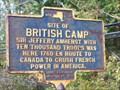 Image for SITE OF BRITISH CAMP - Phoenix, New York