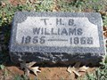 Image for 100 - T.H.B. Williams - Fairlawn Cemetery - OKC, OK