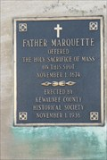 Image for Father Marquette Marker – Kewaunee, WI