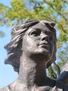 Angel of Hope, Facial Close-up, Middletown, OH