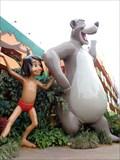 Image for Giant Baloo & Mowgli - Satellite Oddity - Lake Buena Vista,  Florida, USA.