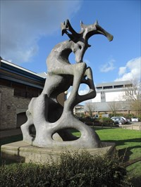 The Stag Maidstone >> The Stag Lockmeadow Centre Maidstone Uk Figurative