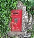 Image for Victorian Post Box - No.215 - Ballakillingham, Churchtown, Isle of Man