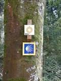 Image for Way Marker - Sitz der Weißheit - Trillfingen, BW, Germany