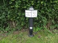 Image for Trent & Mersey Canal Milepost - Wheelock, UK