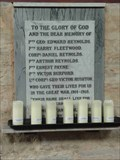 Image for WWI Memorial, St Kenelm, Upton Snodsbury, Worcestershire, England