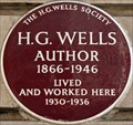 Image for H G Wells - Baker Street, London, UK