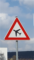 Image for Attention  Aircraft Vehicle crossing - Rudolstadt/ Thüringen/ Deutschland