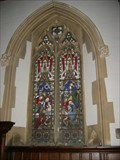 Image for Birth of Christ Window - All Saints Church, Turvey, Bedfordshire, UK