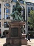 Image for Lessing-Denkmal - Gänsemarkt, Hamburg, Germany