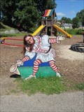 Image for Clown Cutout 2 - Circus World - Baraboo, Wisconsin