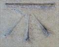 Image for Cut Bench Mark - Trumpington Street, Cambridge, UK