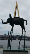 Image for Space Elephant - Salvador Dali - Hamburg, Germany