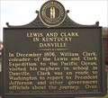 Image for Lewis and Clark in Kentucky / Danville, Danville, Boyle County, Kentucky