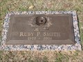 Image for 101 - Ruby P. Smith - Chapel Hill Cemetery - OKC, OK