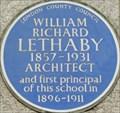Image for William Richard Lethaby - Southampton Row, London, UK