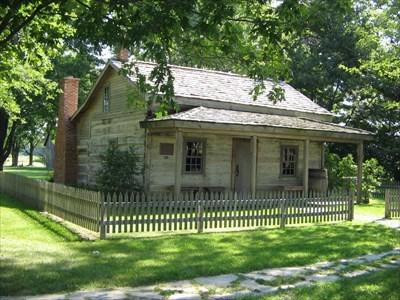 Colbert-Henderson Log Home: