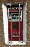 Image for Victorian Post Box - Lisvane, Cardiff, Wales, UK