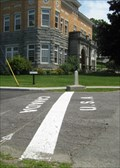 Image for Church Street - Derby Line, Vermont / Rue Church - Stanstead, Quebec