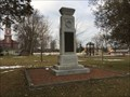 Image for West Zorra and Embro War Memorial Cenotaph - Embro, ON