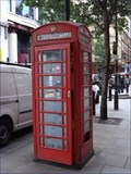 Image for Red Telephone Box - Broadwick Street, London, UK