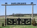 Image for Happy Cow Ranch Gate - Arcadia, OK