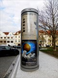 Image for Reklamní sloup na Hradcanském námestí - Praha 1, Czech republic