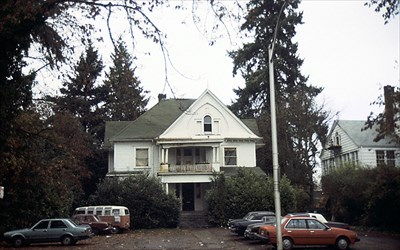 The former home of Amanda Patterson and site of the movie