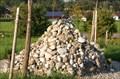 Image for Cairn im Garten des Friedens, Gstadt am Chiemsee, Lk Rosenheim, Bayern, Deutschland