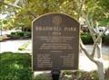 Image for Bradwell Park (1974) Historical Marker