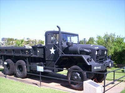M54A1C 5-ton Cargo Truck - 45th Infantry Museum - Oklahoma City