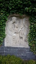 Image for Relief an Mauer - Maria Laach - RLP - Germany