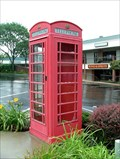Image for Red Telephone Box - Clarion, Pennsylvania