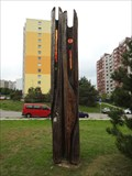 Image for Outside Wooden Display Carving - Brno, Czech Republic