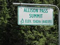 Image for Allison Pass Summit - Manning Park, British Columbia - 1342 Meters