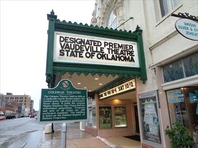 veritas vita visited Coleman Theatre