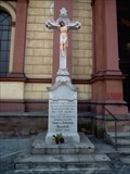 Image for Cross at Cathedral of the Divine Saviour - Ostrava, Czech Republic