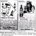 Image for Haag Bottling Co. -- York, NE --1917