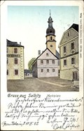 Image for Kirchplatz Selbitz um 1900 - Selbitz/BY/Germany