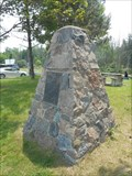 Image for King's Highway 9 Marker Cairn - Schomburg, ON