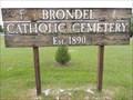 Image for Brondel Catholic Cemetery - Bozeman, Montana