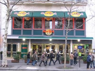 Hard Rock Cafe Paris Metro Station