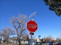 Image for Solar power STOP sign
