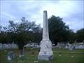 Image for Obelisk-Belton Cemetary-Belton,SC